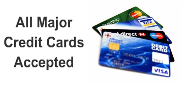 All credit card accepted